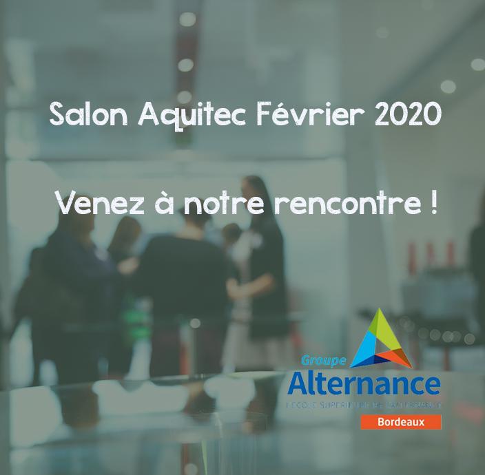 Groupe Alternance Bordeaux Salon Aquitec février 2020