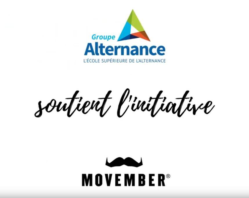 Groupe Alternance Bordeaux Gironde actualités étudiant 2020 Movember Instagram